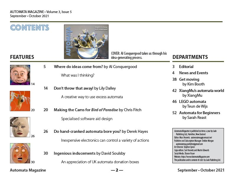 Contents Sept-Oct issue 2021